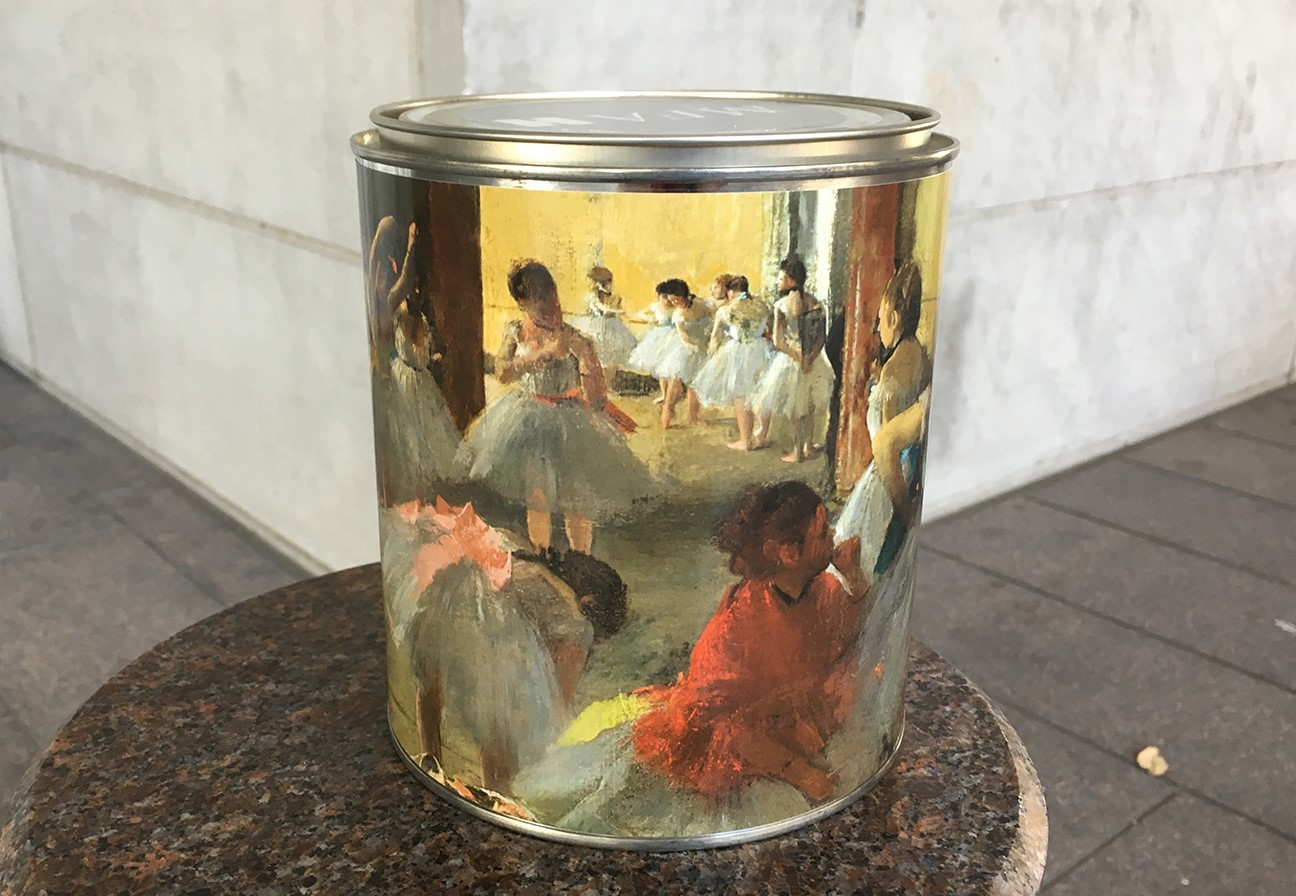 Degas gift membership tin for 2016