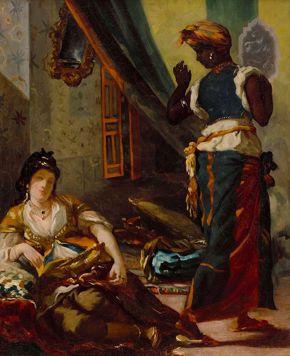 Delacroix - Women of Algiers in Their Apartment
