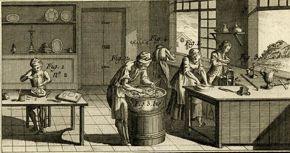 Denis Diderot, L'Encyclopédie, ou Dictionnaire Raisonné des Sciences, des Arts et des Métiers, silver-plating, plate 419