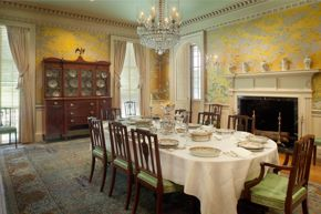 Dining Room at Bayou Bend 2019