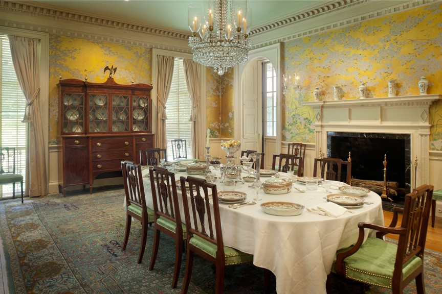 The Period Rooms At Bayou Bend The Museum Of Fine Arts