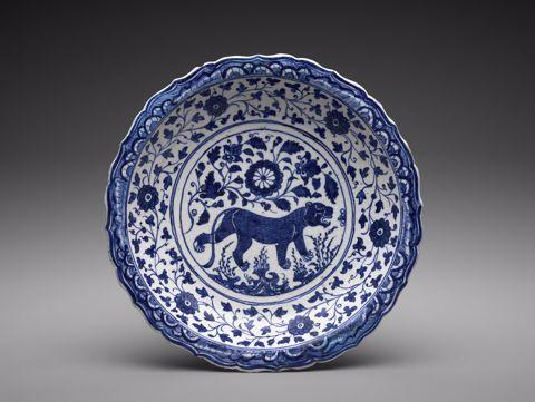 Dish, Persian, 15th century