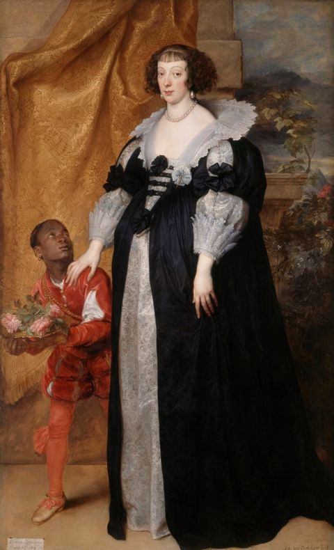 Dyck- Henrietta of Lorraine