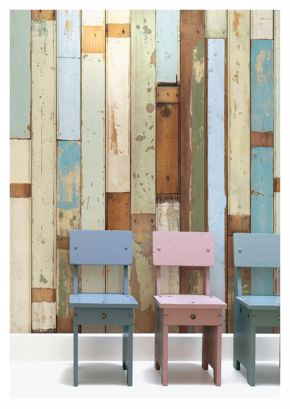 Eek- Scrapwood Wallpaper