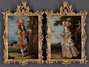 Emperor Leopold I and Infanta Margaret Theresa - Habsburg blog ONLY