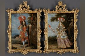 Emperor Leopold I and Infanta Margaret Theresa - Habsburg blog ONLY