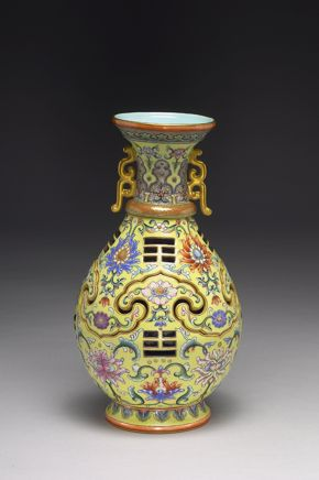 ET - Vase with a revolving core
