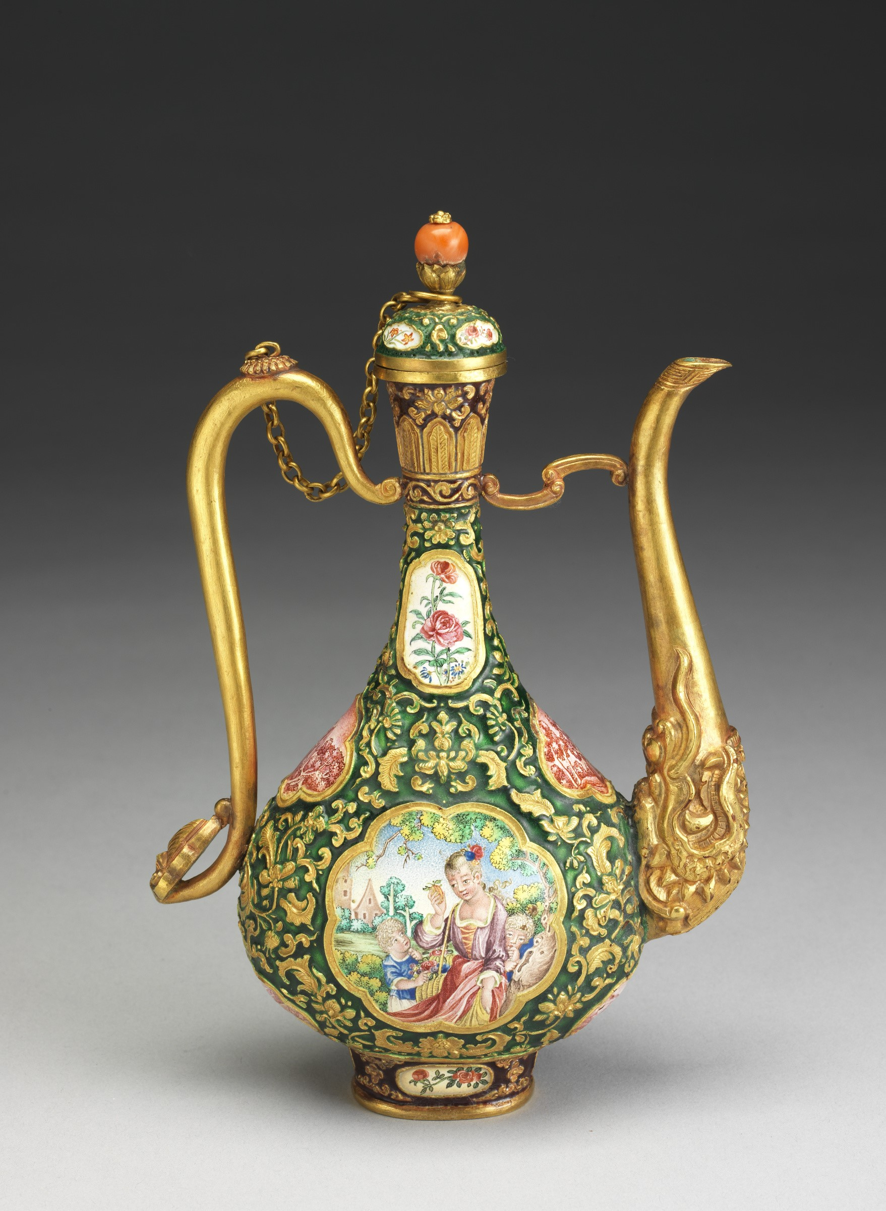 ET Champléve ewer IN CHINESE - FOR CHINESE PAGE ONLY