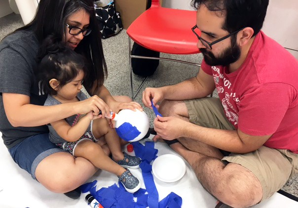Family art-making - our youngest artists / baby or toddler program