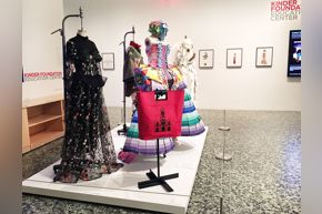 Fashion Fusion installation in KFEC Gallery 2017