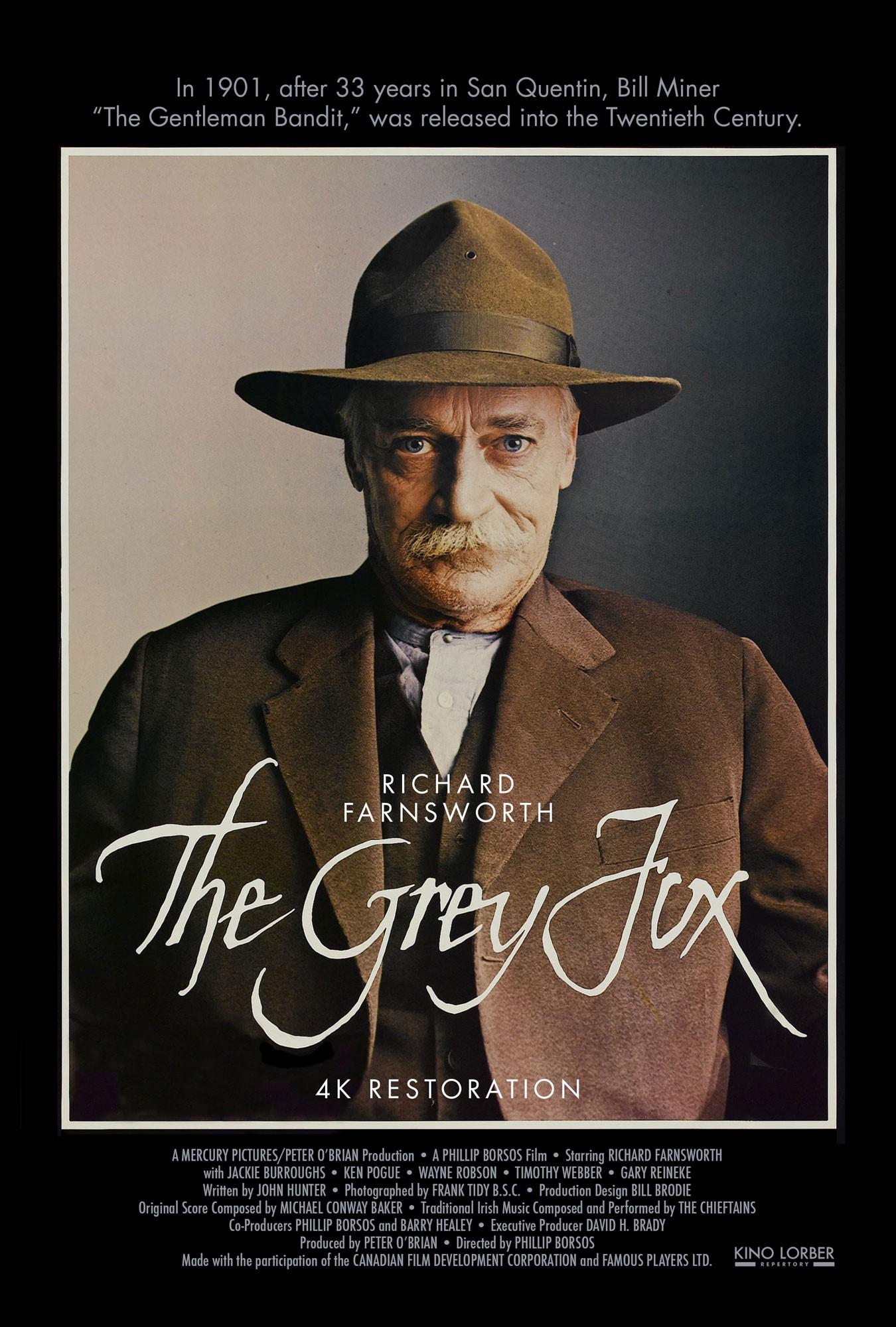 film | The Grey Fox (poster)