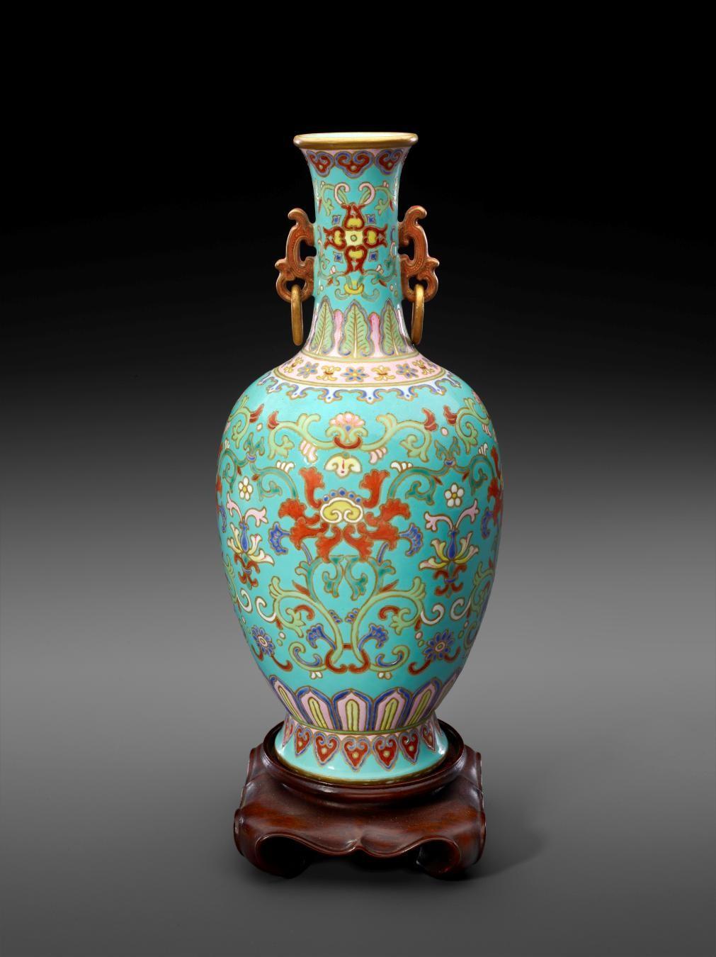 Chinese, Vase, 1736–96
