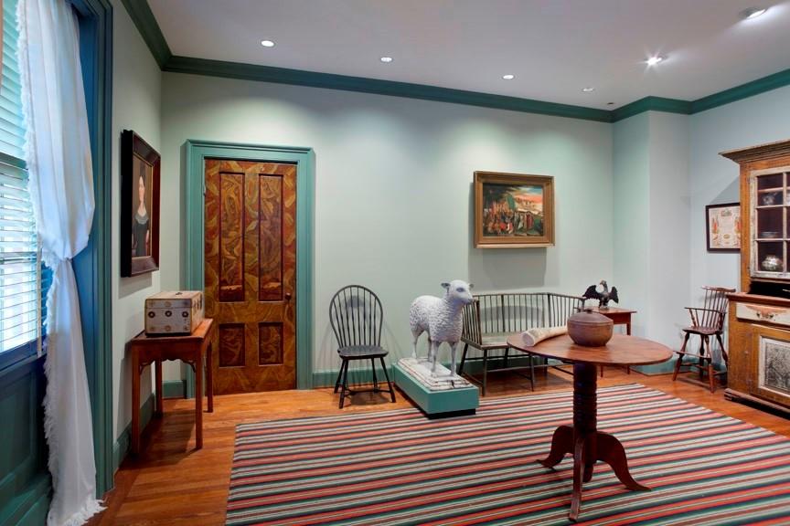 Folk Art Room at Bayou Bend 2019
