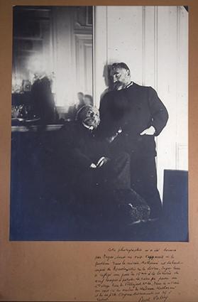 Edgar Degas, Auguste Renoir and Stéphane Mallarmé