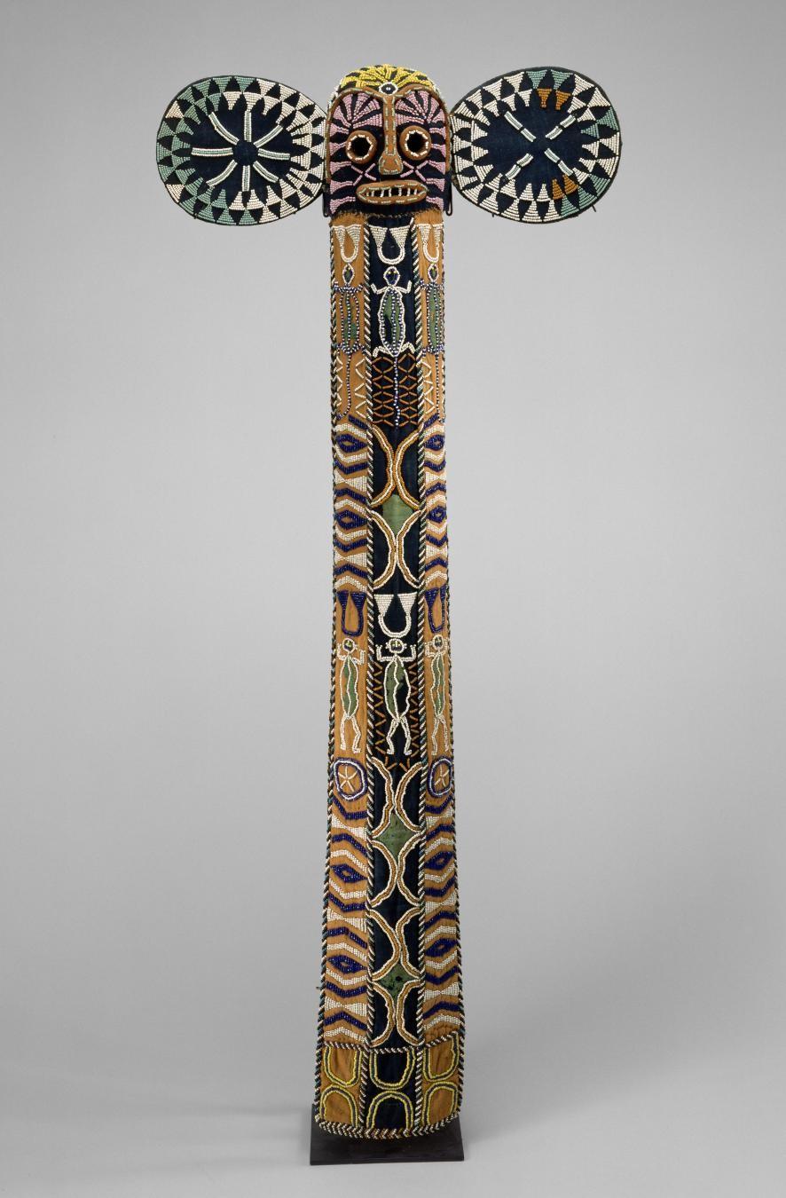 Bamileke peoples, Elephant Mask, 1900–1950