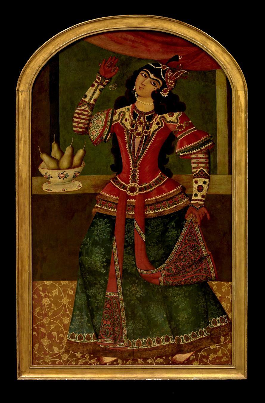 Muhammad Baqir, Dancing Girl, 1192 AH/1778–79 AD