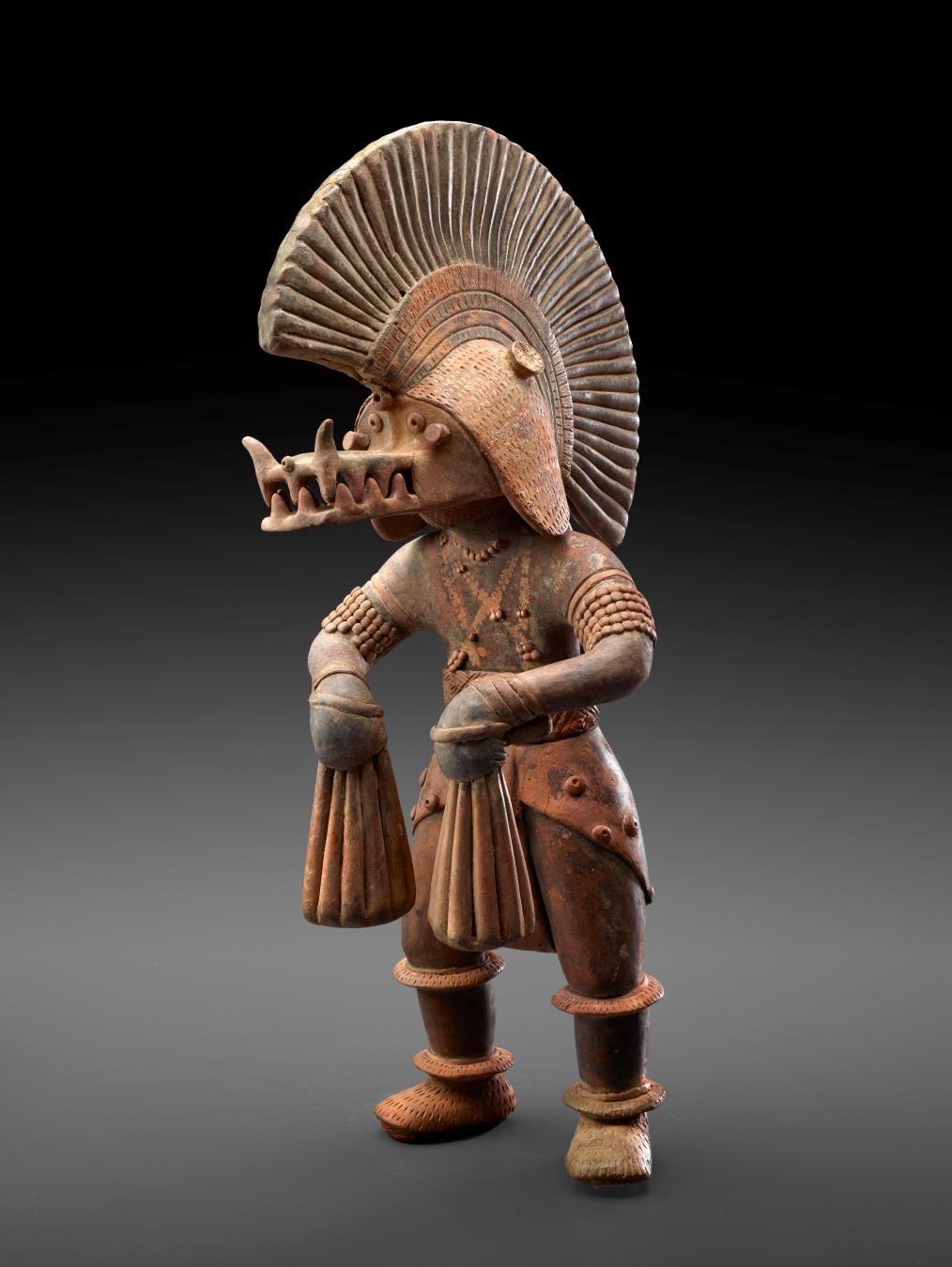 Colima, Deity Impersonator, 300 BC–300 AD