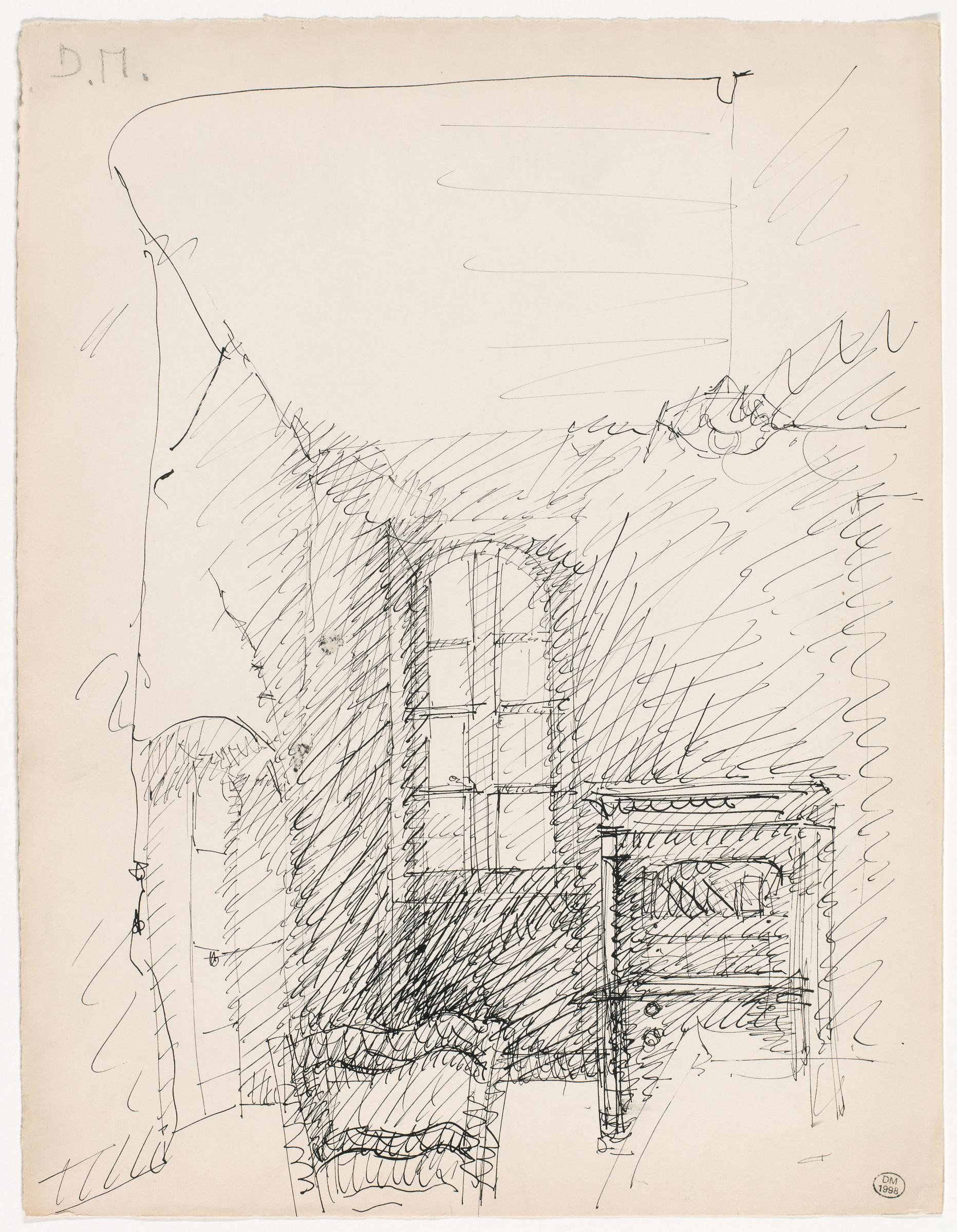 FOR DORA MAAR SYMPOSIUM ONLY - dora maar ink drawing of house