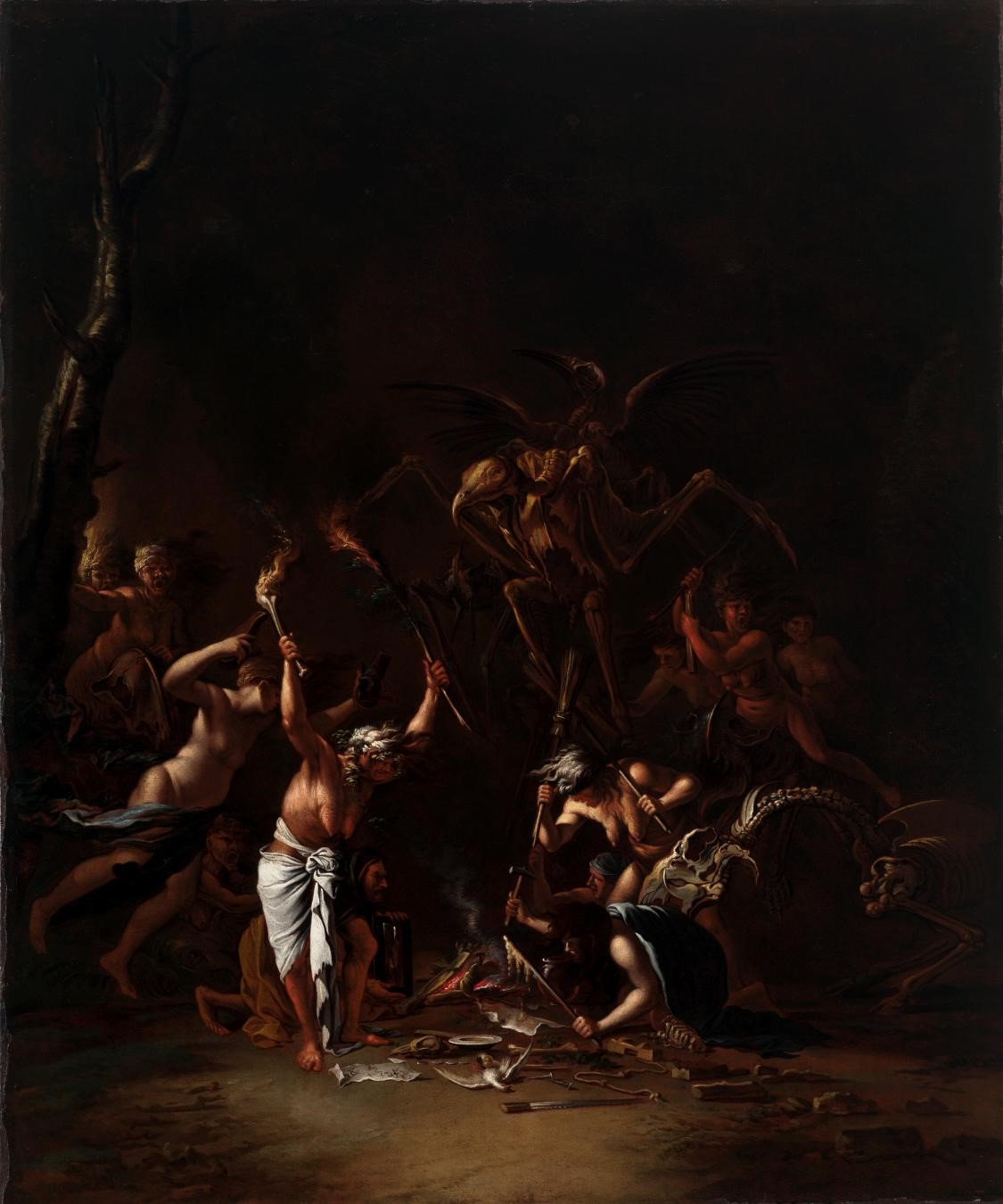 Salvator Rosa, The Witches' Sabbath, c. 1640–49