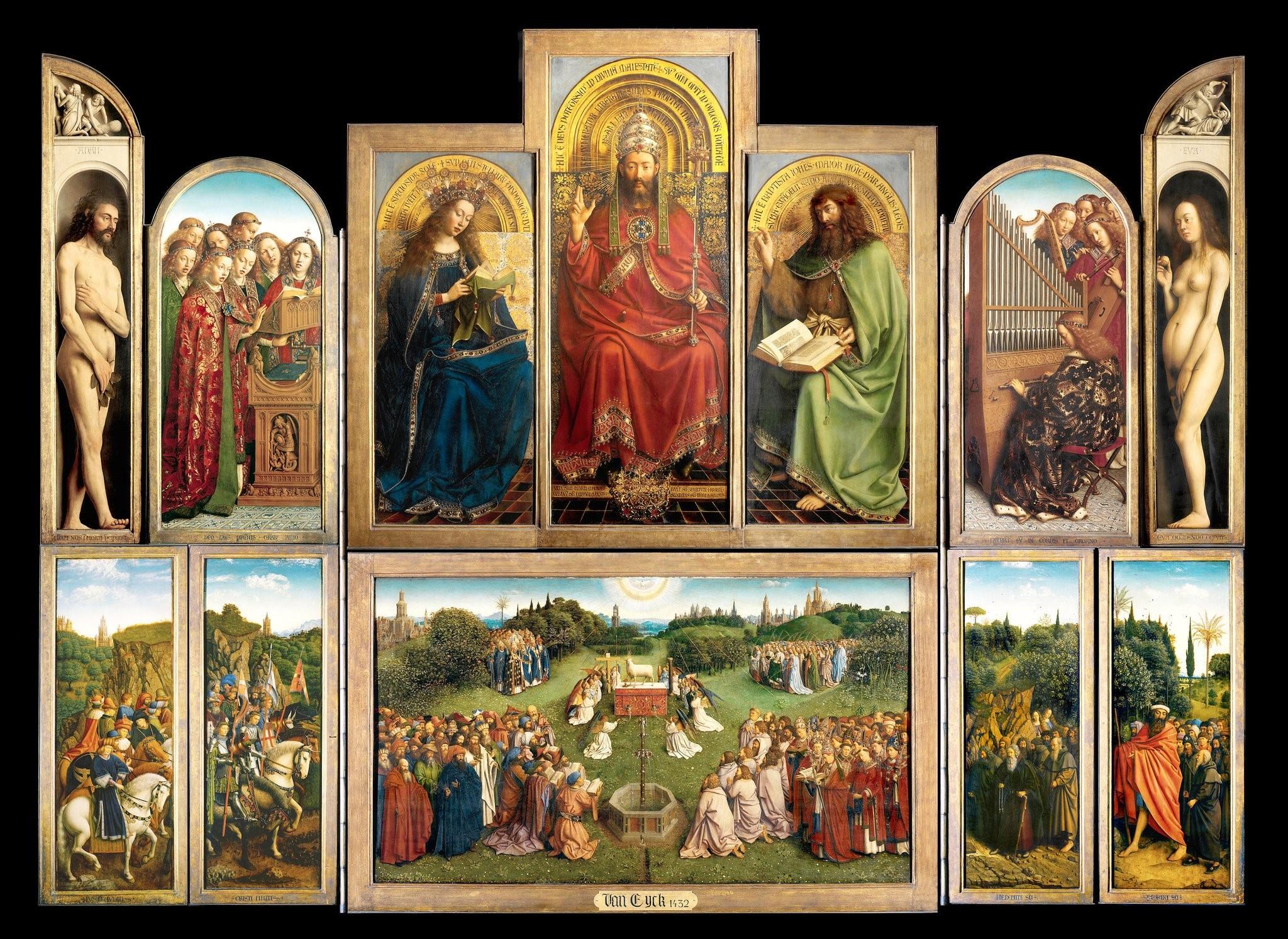 Jan and Hubert van Eyck, The Ghent Altarpiece