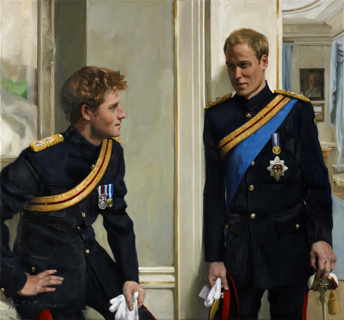 Nicky Philipps, Prince William, Duke of Cambridge; Prince Harry, Duke of Sussex, 2009