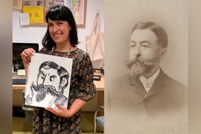 FOR NAST BLOG POST: Maria Heg & Thomas Nast
