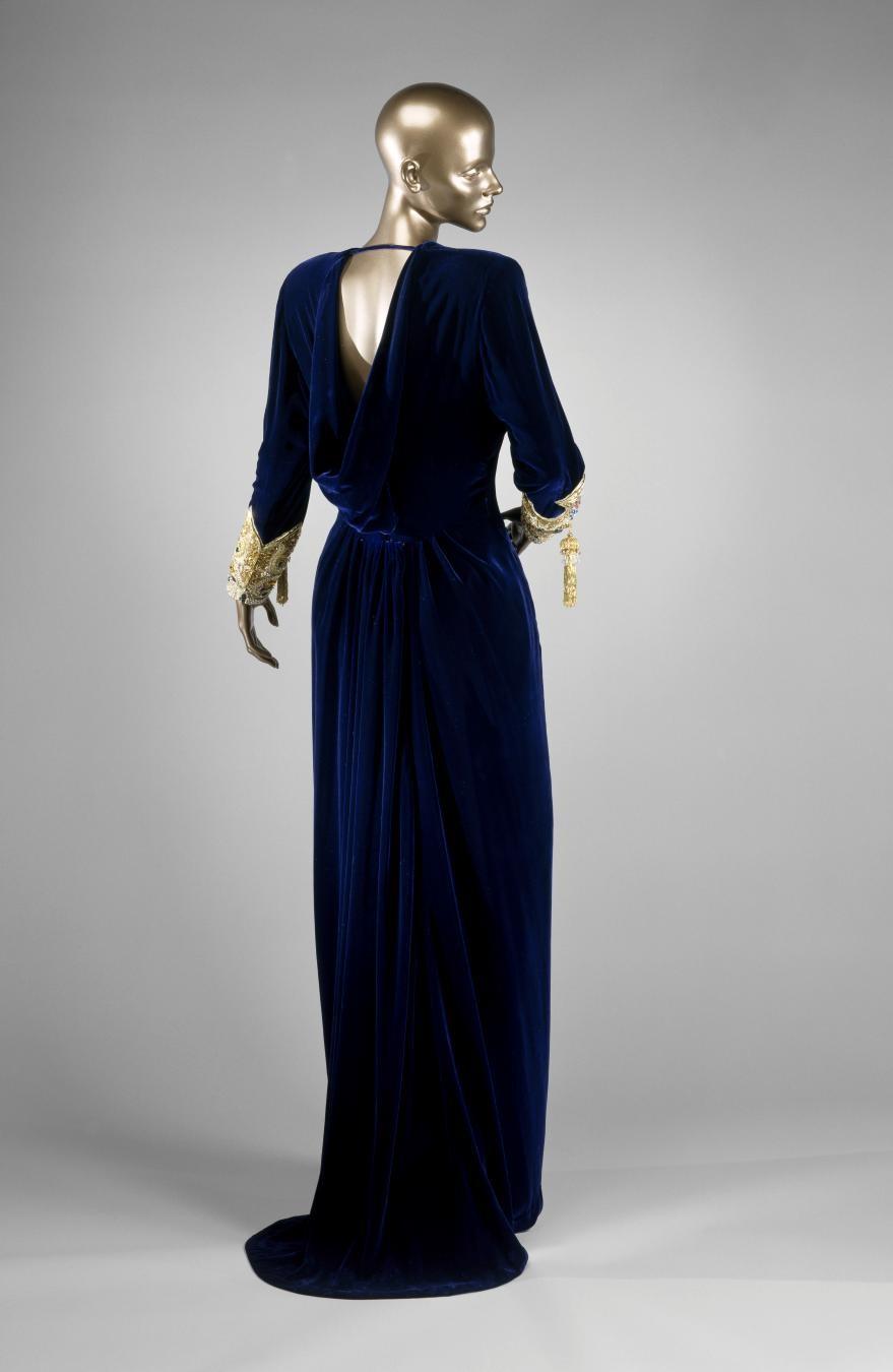 Oscar de la Renta, Evening Dress, fall 1990