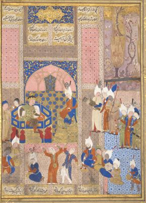 FOR ROYAL REFLECTIONS BLOG POST ONLY - Ganjavi, Alexander Feasting with the Emperor of China
