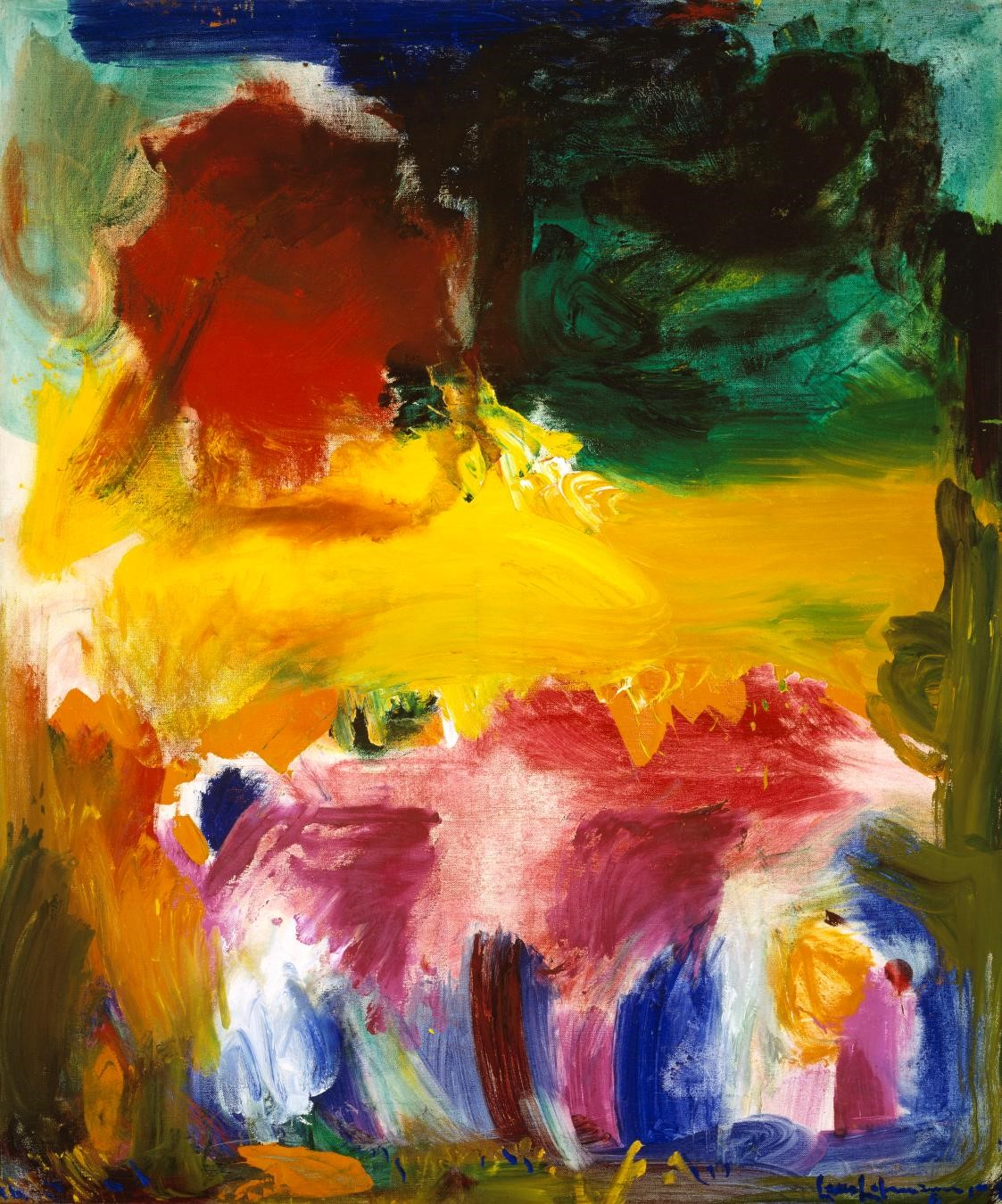FOR SUN BLOG POST ONLY - Hans Hofmann, Fiat Lux