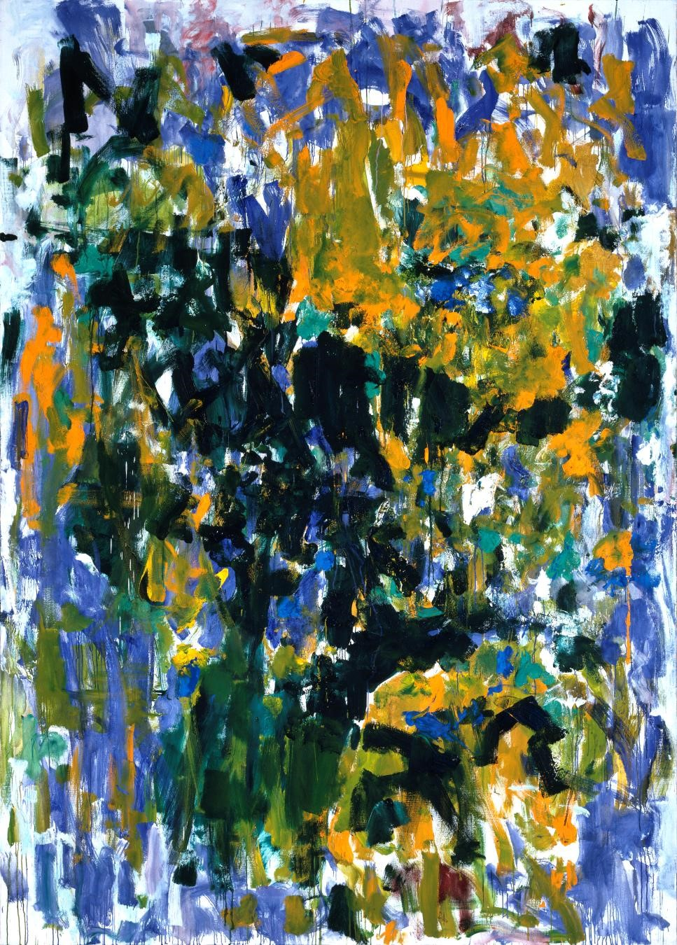 Joan Mitchell, Tournesols (Sunflowers), 1976
