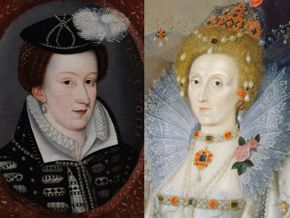 FOR TUDORS BLOG POST ONLY - Mary and Elizabeth split