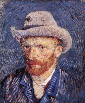 FOR VAN GOGH ARMCHAIR TRAVEL DOCUMENTARY ONLY - Van Gogh self portrait