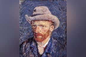 FOR VAN GOGH ARMCHAIR TRAVEL DOCUMENTARY ONLY - Van Gogh self portrait