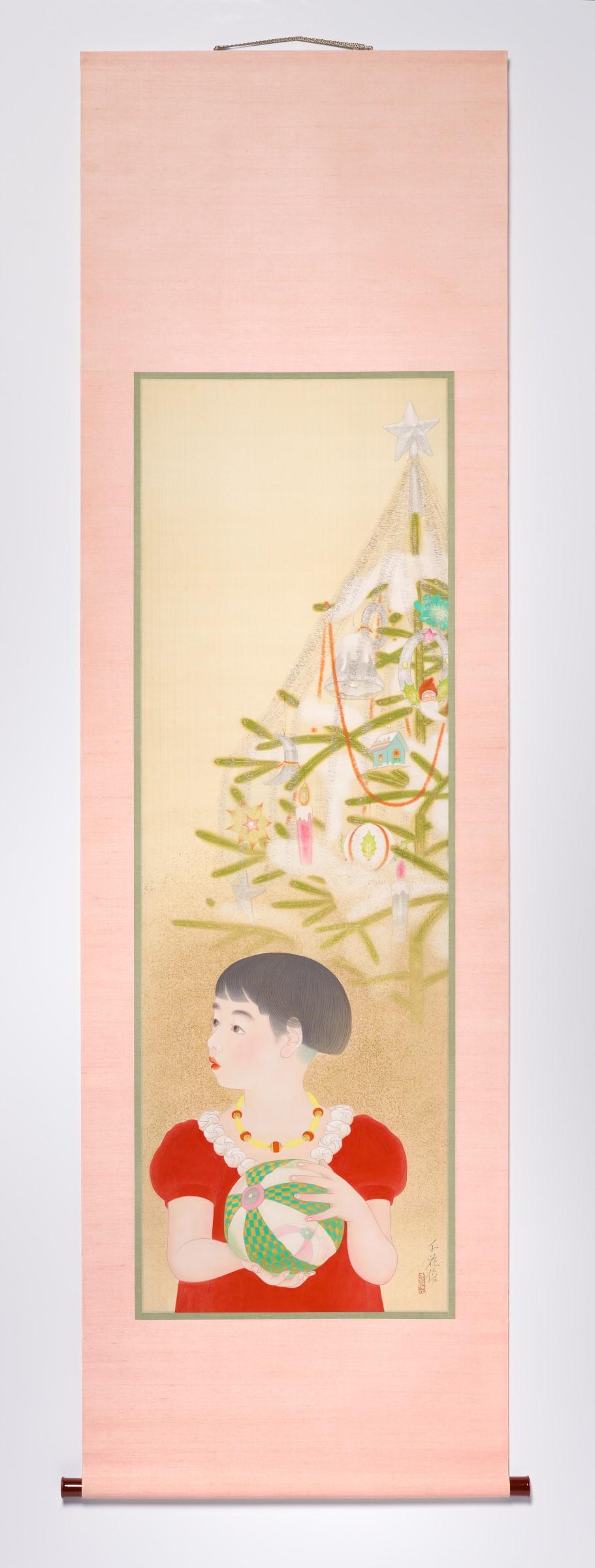 Enomoto Chikatoshi, Christmas Eve, c. 1933