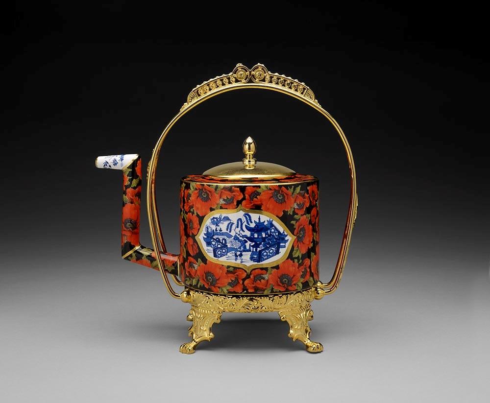 Foulem - Red Poppy Teapot