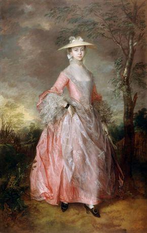 Gainsborough- Mary Countess Howe