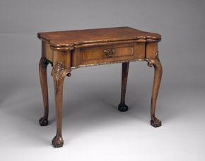 "English ""Games Table"" c. 1730"