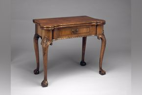 "English ""Games Table"" c. 1730"