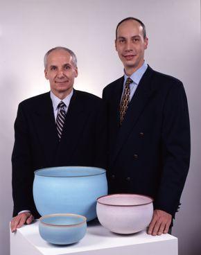 Garth Clark and Mark Del Vecchio
