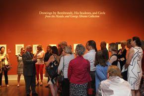 George Abrams, Art + Paper event