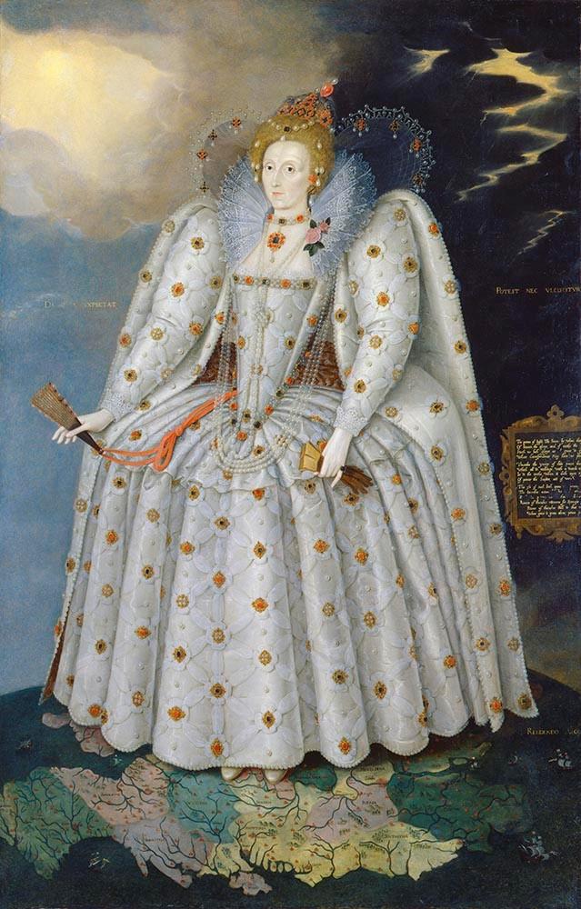 Gheeraerts - Queen Elizabeth I