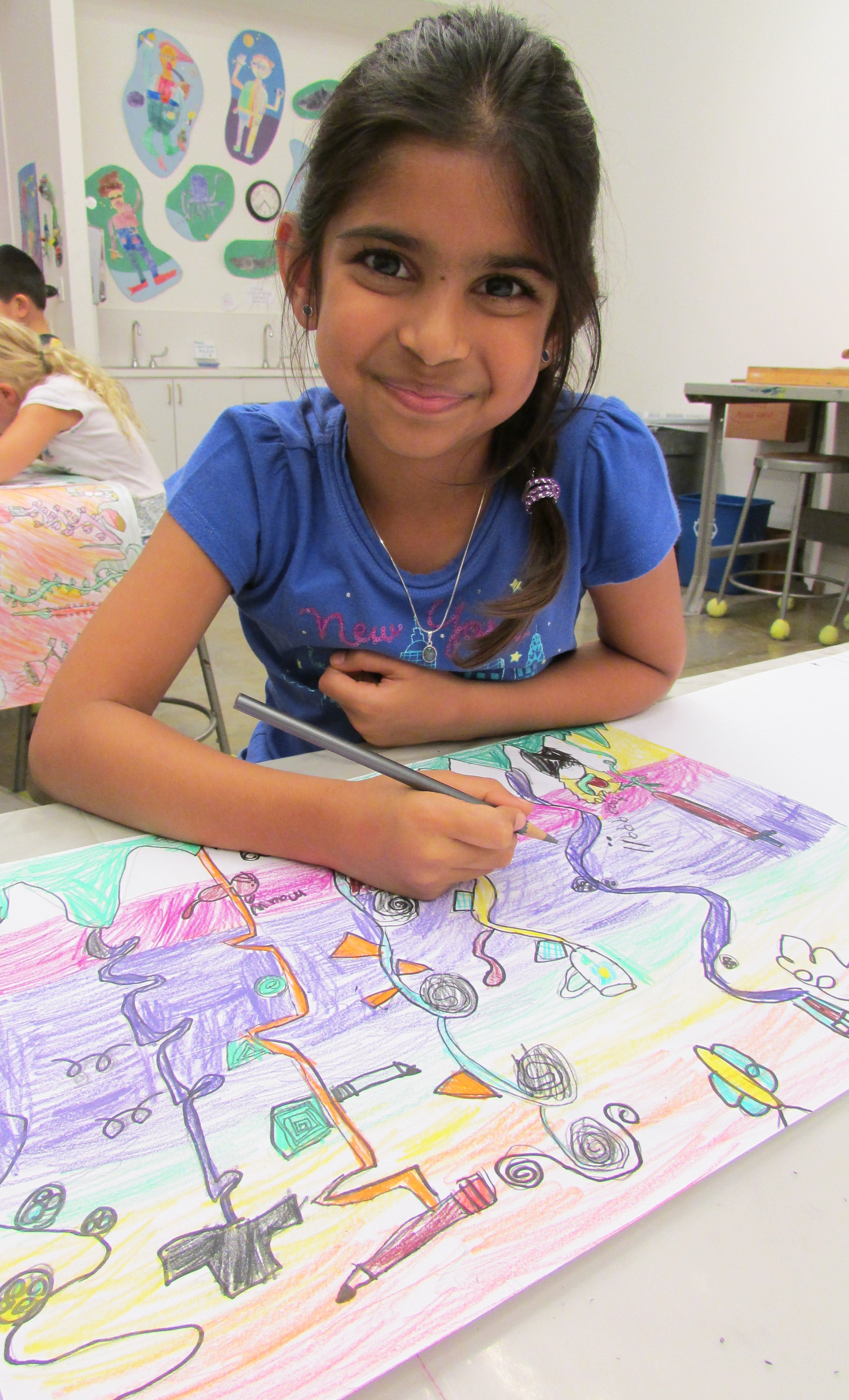 Glassell Junior School (Drawing and Painting; ages 6-8)