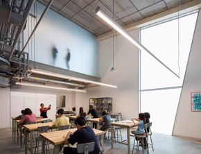 Glassell School of Art / Junior School / class interior / Richard Barnes