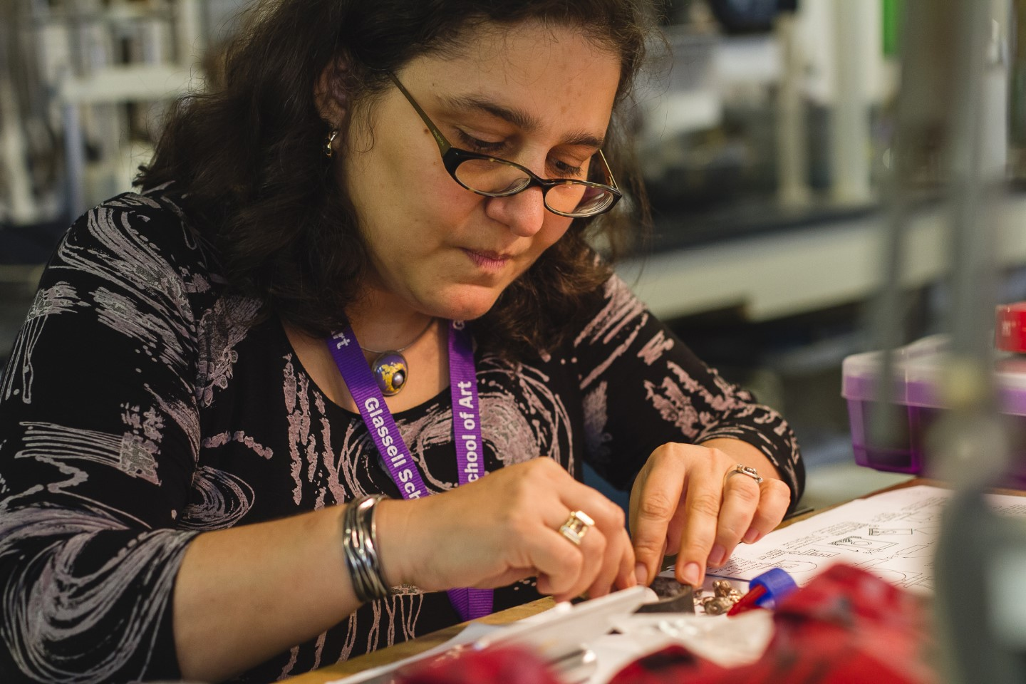 Glassell Studio School - jewelry-making - Anna Tahinci