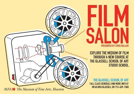Glassell Studio School 2011 Fall Film Salon