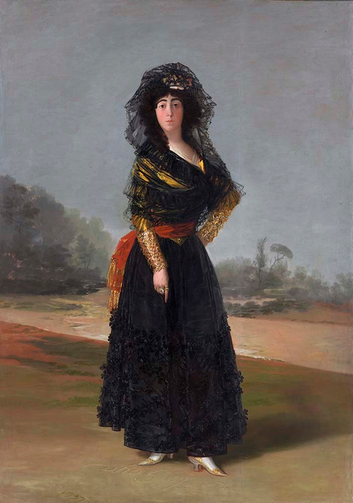 Goya - Duchess of Alba