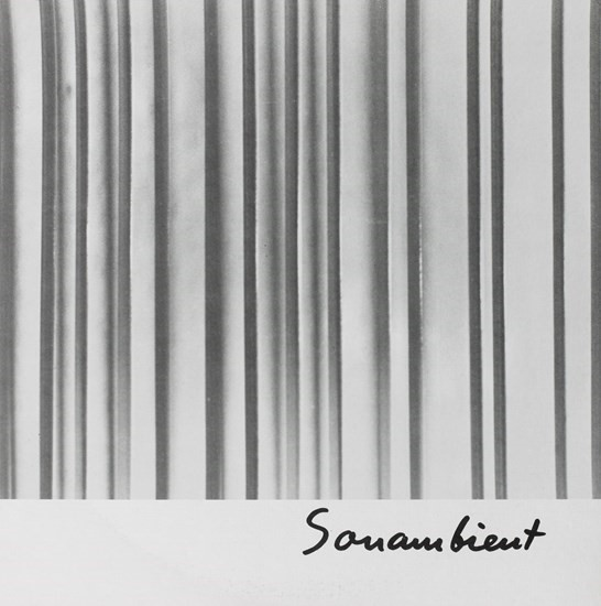 "Harry Bertoia, ""Continuum, Near and Far"" from the series Sonambient, c. 1970–1978, vinyl LP record, The Museum of Fine Arts, Houston, Museum purchase funded by the John R. Eckel, Jr. Foundation. © Estate of Harry Bertoia / Artists Rights Society (ARS), New York"
