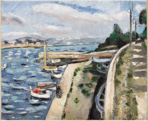 Henri Matisse, View of Antibes, 1925, oil on canvas