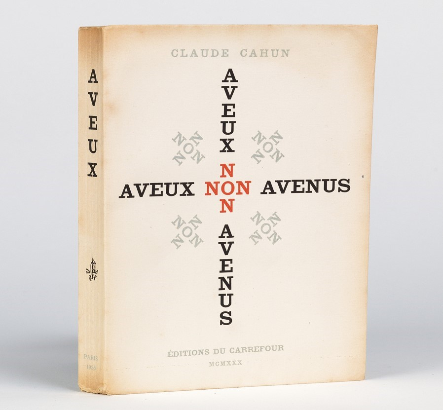 The Hirsch Library's copy of Claude Cahun's Aveux non avenus