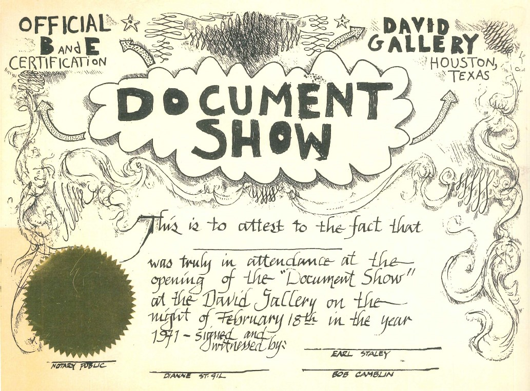 Hirsch Library / Creating Collision / The Document Show
